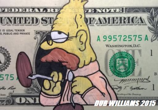 Abe Simpson Dub Williams