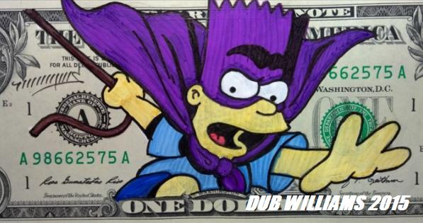 Bart Simpson Dub Williams