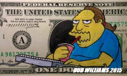 Comic Book Guy Dub Williams