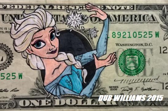 Elsa Frozen Dub Williams