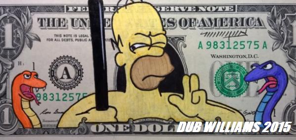 Homer Simpson Dub Williams