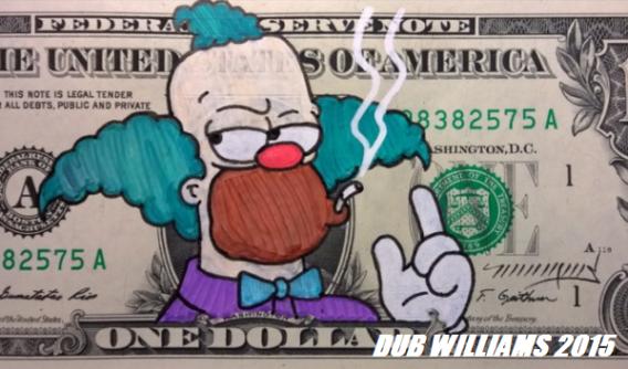 Krusty Clown Dub Williams