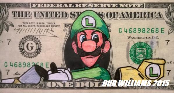 Luigi Death Stare Dub Williams