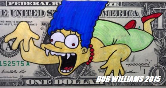 Marge Simpson Dub Williams
