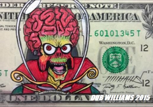 Mars Attacks Dub Williams