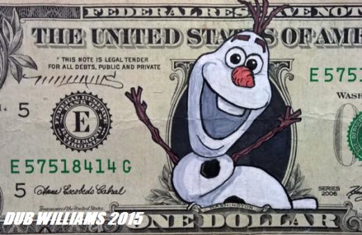 Olaf Frozen Dub Williams