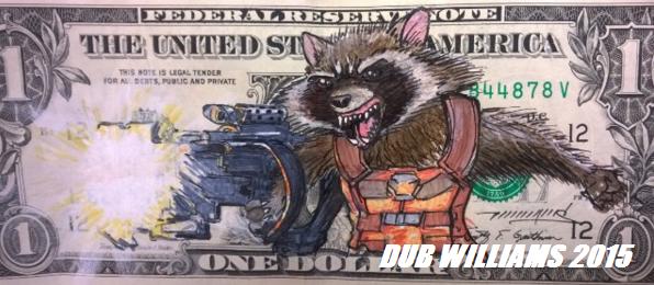 Rocket Raccoon Dub Williams